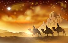 Nativity Christmas Three Wise ...