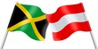 Flags. Jamaica and Austria