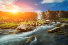 Thingvellir National Park Rift...