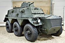 British Armoured Personnel Carrier Alvis Saracen