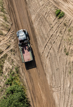 Aerial View Of The Transporter...