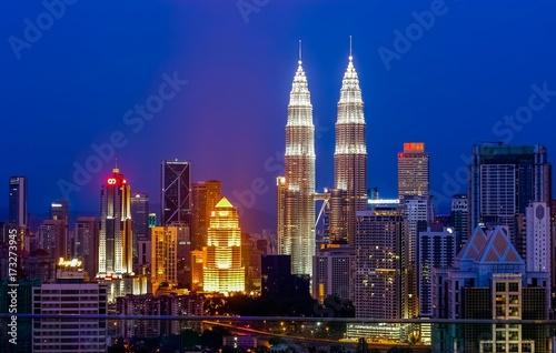 Foto op Aluminium Kuala Lumpur city