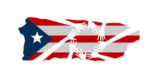 Hands Helping Puerto Rico Vect...