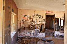 Ruined House In The Desert