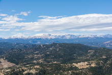 Flatirons Boulder Colorado Trail Rock Burnt Trees
