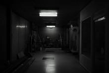 寂れた廊下