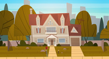 House Building Suburb Of Big C...