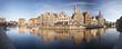 canvas print picture - Ghent Panorama, Belgium
