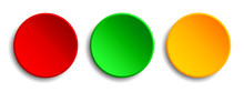 Red, Green, Yellow Button - St...