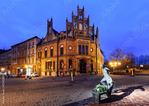 Chorzow centre near Katowice in Poland.