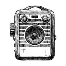 Illustration Of Box Camera