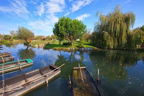Marais de Bourges Canvas-taulu