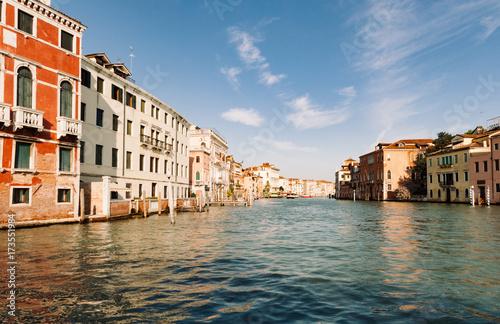 Plakat Kanał Grande w Wenecja, Włochy