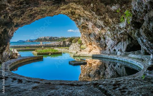 Photo  Tiberio's Villa, roman ruins near Sperlonga, Latina province, Lazio, central Italy