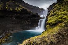 Cascata Ofaerufoss In Islanda ...