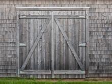Old Cedar Barn Doors