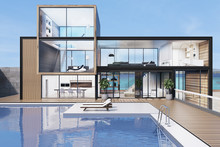 Large House With A Swimming Pool