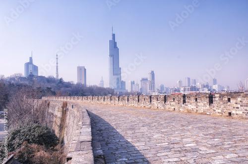 Fényképezés  nanjing china city wall