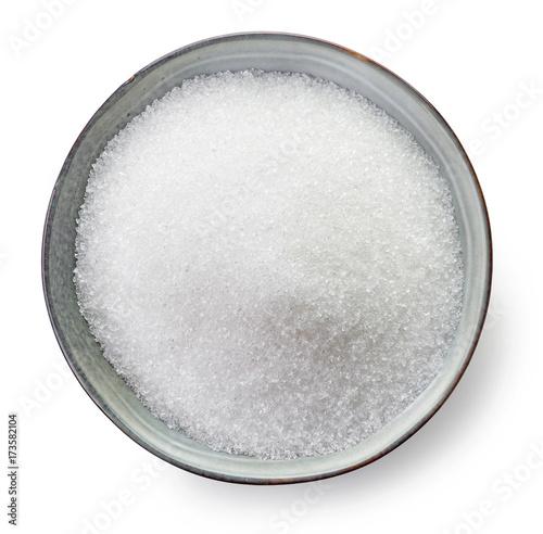 Bowl of sugar Fototapeta