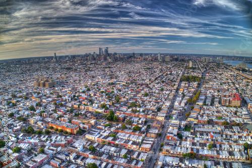 Fotografie, Obraz  Aerial View Of Philadelphia PA