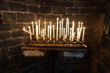 Church Votive Candles White Fl...