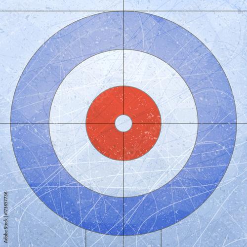 Obraz na plátne Curling House
