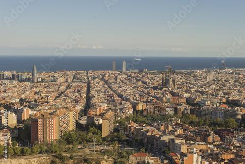 Plakat Szczegóły regionu katalońskiego