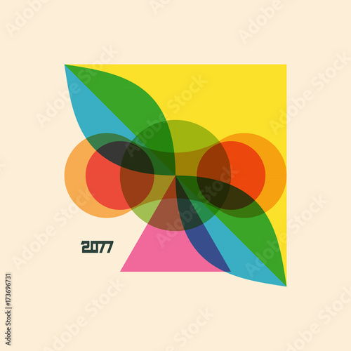 Photo  Abstract geometric design