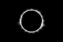 Total Solar Eclipse Vector Ill...