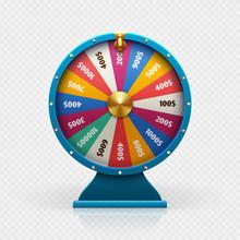 Roulette 3d Fortune Wheel Isol...