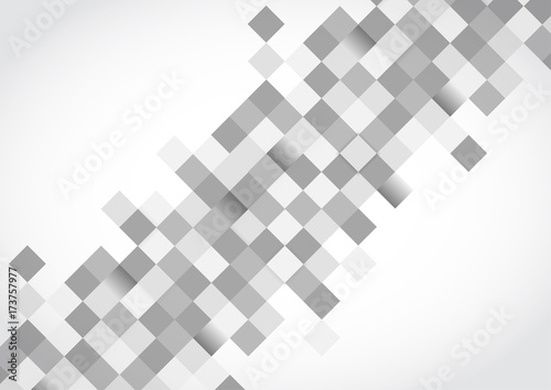 Abstract Template with Overlapping Squares Clean Minimal Style ...