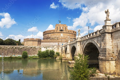 view-of-the-castel-sant-angelo