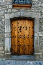 Antique Rural Wooden Door