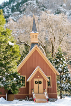 Small Chapel In Yosemite