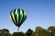 Hot Air Balloon Skimming Tree Tops