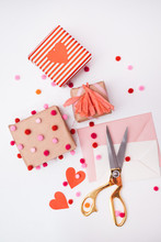 DIY Valentine's Wrapping Ideas