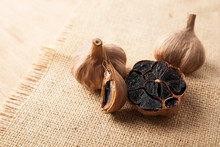 Black Garlic Close Up