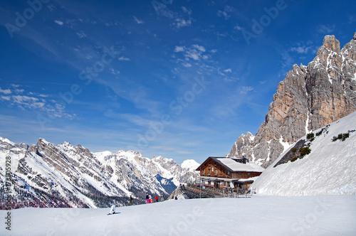 Fotografie, Obraz  Dolomites at Cortina D'Ampezzo, Italy