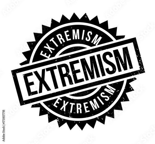 Extremism rubber stamp Wallpaper Mural