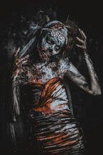 Portrait Of Bloody Bride
