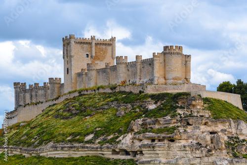Castillo de Peñafiel, provincia de Valladolid, España
