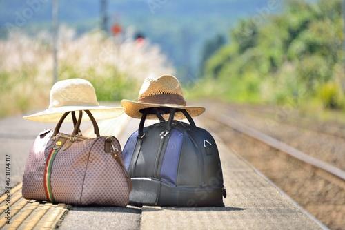 Fototapeta ステーション・鉄道の旅  obraz
