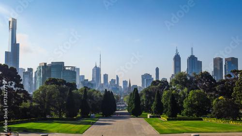 Obraz na dibondzie (fotoboard) Odkrywam Melbourne w Wiktorii