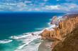 Atlantic ocean coast in Portugal