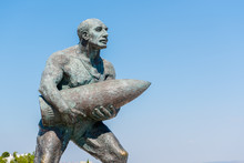 Statue Of Famous Turkish Corpo...