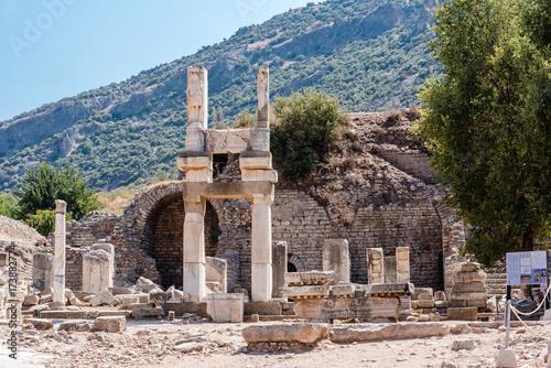 Fototapeta Temple of Domitian at Ephesus historical ancient city, in Selcuk,Izmir,Turkey:20