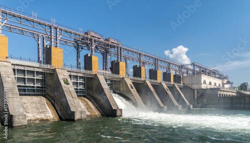 Fototapeta elektrownia wodna