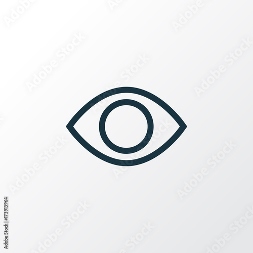 Fotografía  Eye Outline Symbol