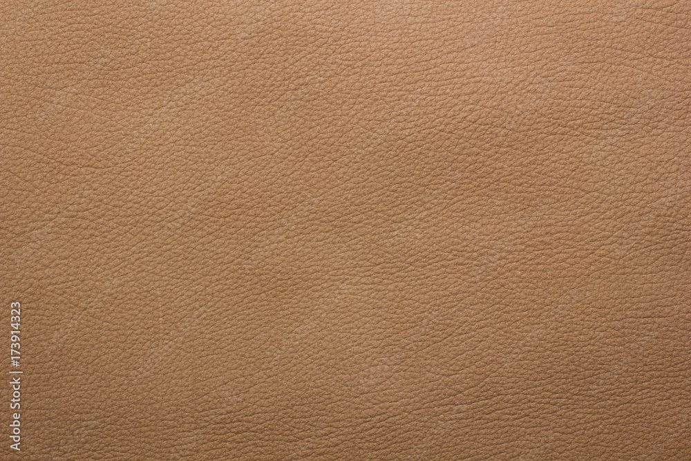 Fototapeta Light brown leather background