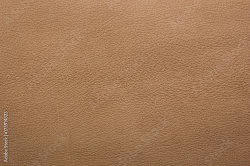 Obraz Light brown leather background - fototapety do salonu